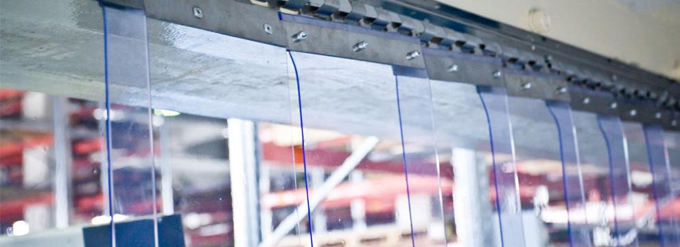 Завесы для ворот из лент ПВХ