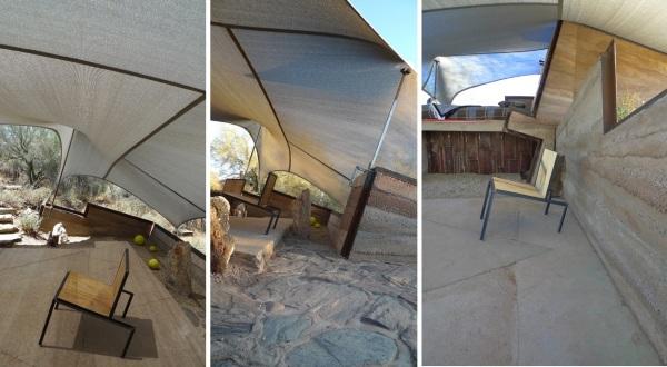 тентовая палатка в Аризоне