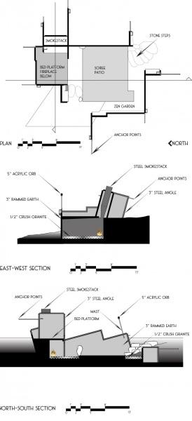 чертеж тентовой палатки